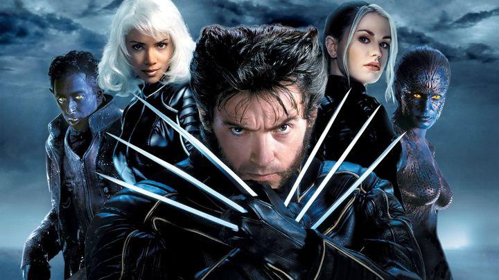 Una scena tratta dal film X-Men 2