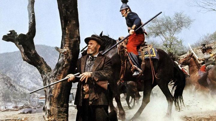 Una scena tratta dal film Sierra Charriba