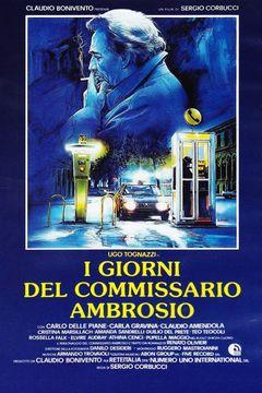 Locandina I giorni del commissario Ambrosio