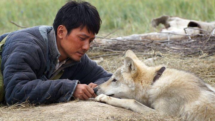 Una scena tratta dal film L'ultimo lupo