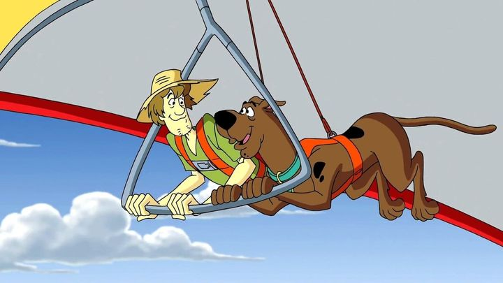 Una scena tratta dal film Aloha, Scooby Doo