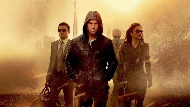 Una scena tratta dal film Mission: Impossible - Protocollo fantasma