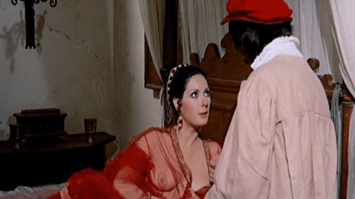 Una scena tratta dal film La bella Antonia, prima Monica e poi Dimonia