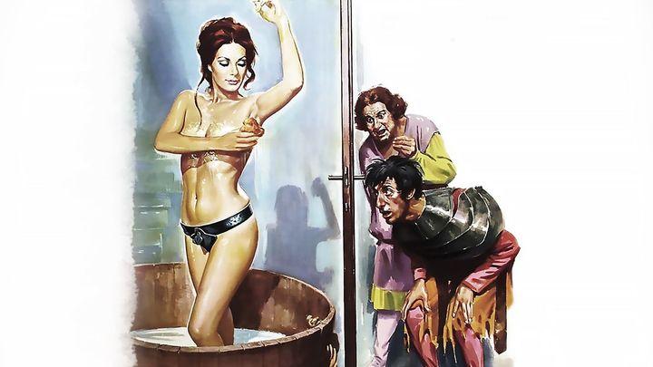 Una scena tratta dal film Quel gran pezzo dell'Ubalda tutta nuda e tutta calda
