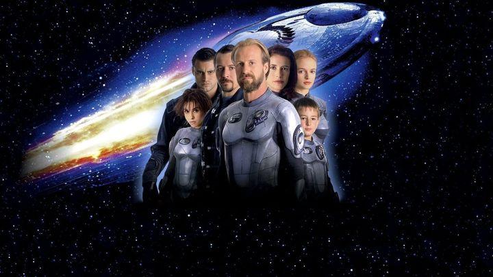 Una scena tratta dal film Lost in Space
