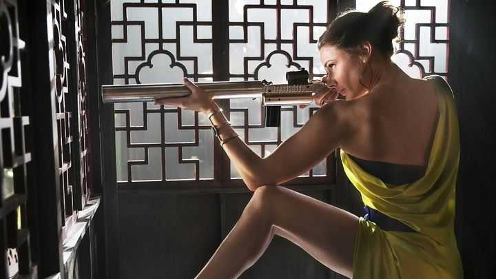 Una scena tratta dal film Mission: Impossible – Rogue Nation